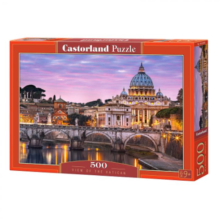 Пазл Ватикан 500 деталей Castorland B-52493