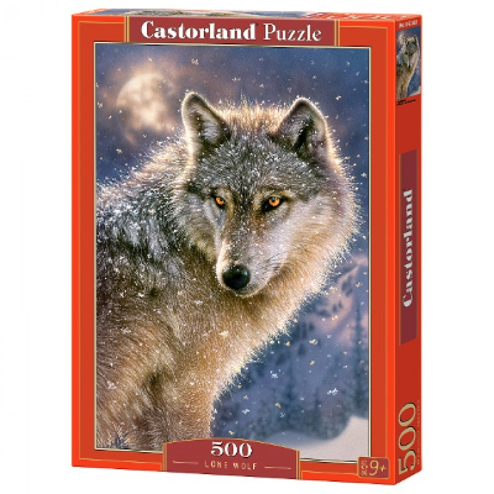 Пазл Волк 500 деталей Castorland B-52431