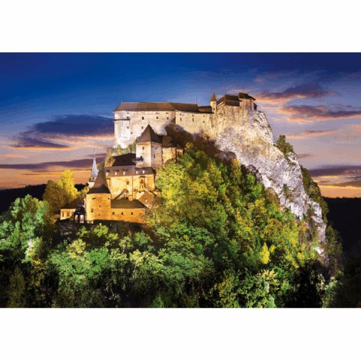 Пазл Замок Словакия 500 деталей Castorland B-51489