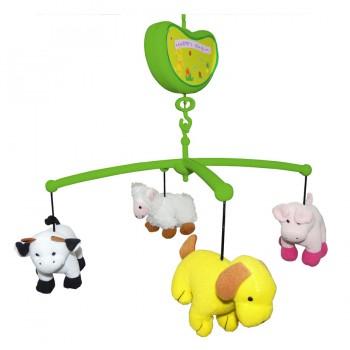 Мобиль Счастливая ферма Biba Toys BM354J