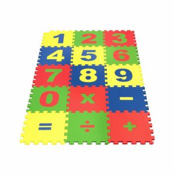 Коврик-пазл Экополимеры Математика 25х25