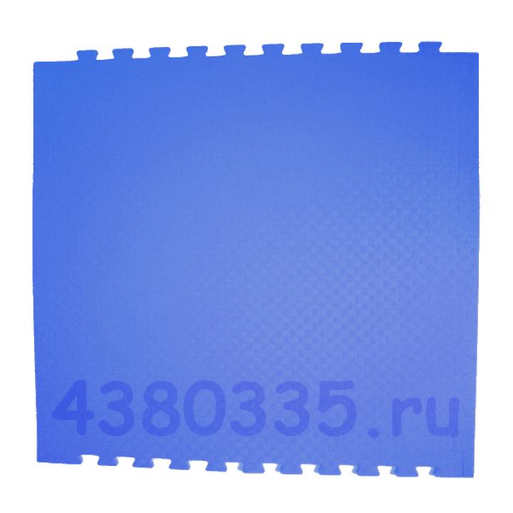 Модульное покрытие Экополимеры синий 100х100 14 мм