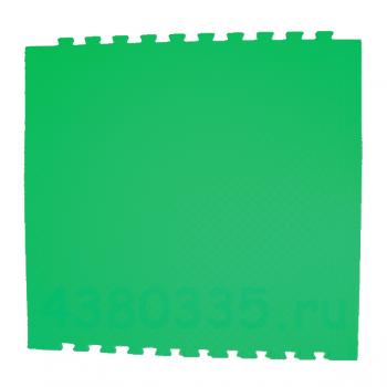 Модульное покрытие Экополимеры зеленый 100х100 14 мм