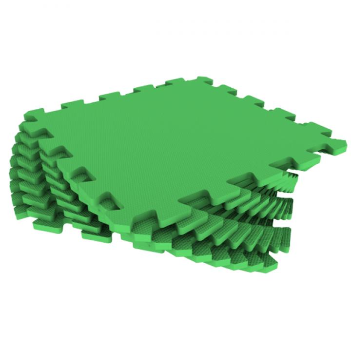 Модульное покрытие Экополимеры зеленый 33х33