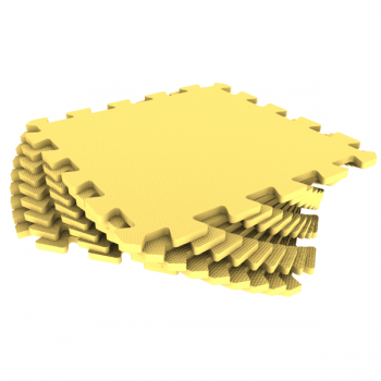 Модульное покрытие Экополимеры желтый 33х33