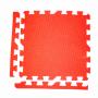 Модульное покрытие с кромками Экополимеры красный 30х30
