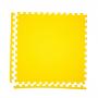 Модульное покрытие с кромками Экополимеры желтый 60х60 4шт