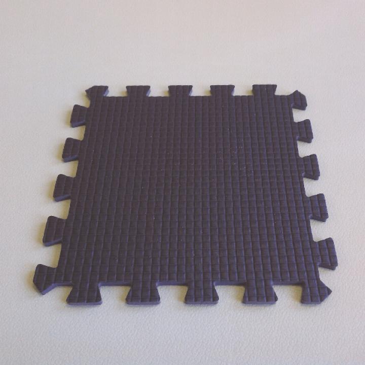 Модульное покрытие Жанетт коричневый 33х33 9 мм 9шт
