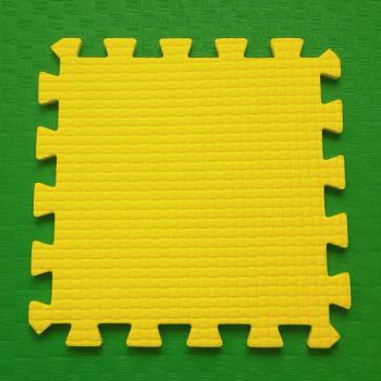 Модульное покрытие Жанетт желтый 33х33 9 мм 9шт