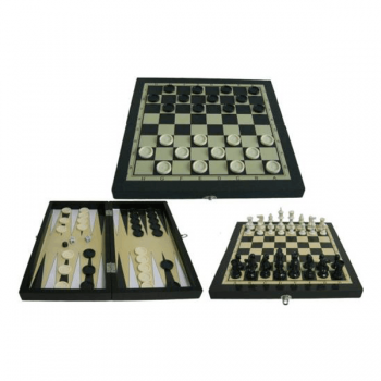 Игра 3 в 1 (шахматы, шашки, нарды) Start Up THF2203A