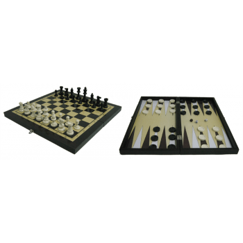 Игра 3 в 1 (шахматы, шашки, нарды) THF2202