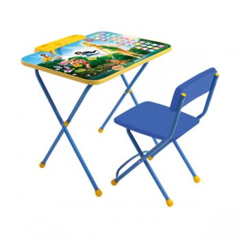 Комплект стол и стул Феи Азбука Disney Ника Д2Ф1