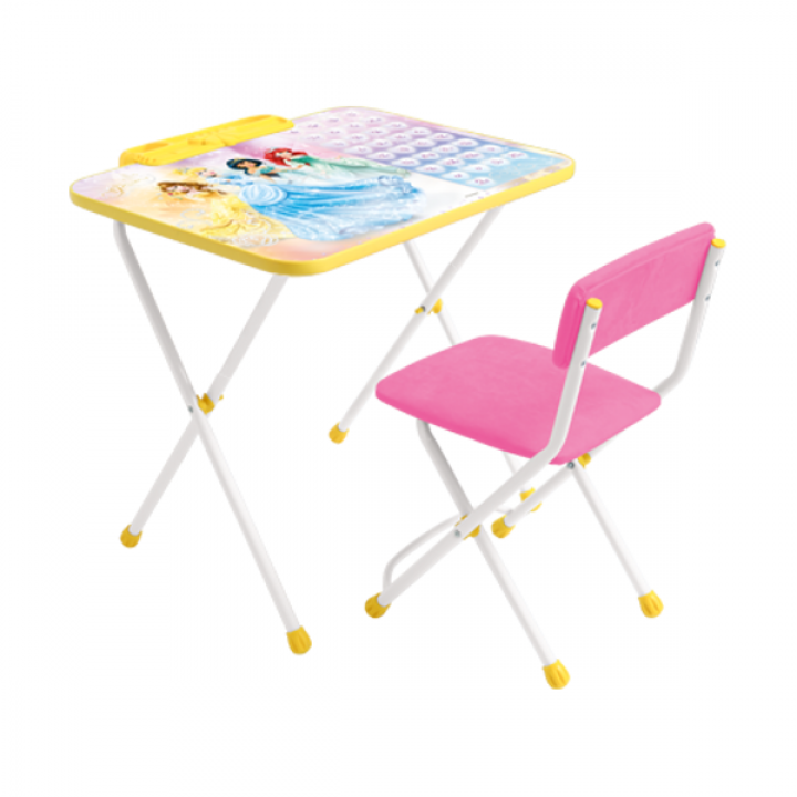 Комплект стол и стул Принцесса Disney Ника Д2П