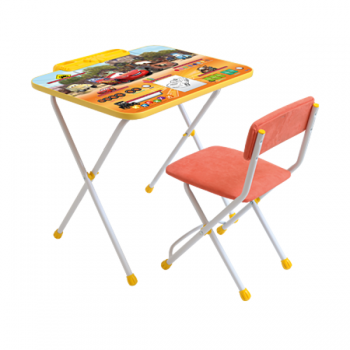 Комплект стол и стул Тачки Disney Ника Д2Т