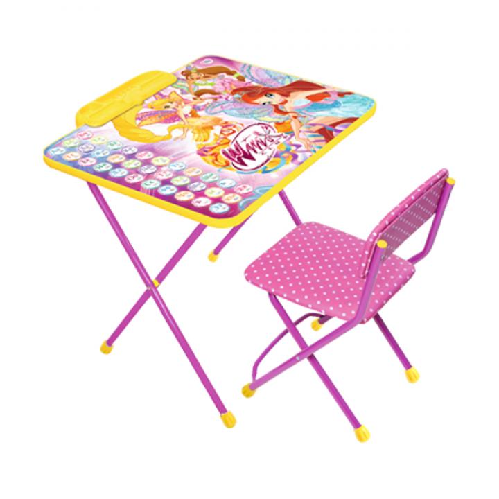 Комплект стол и стул Winx Азбука Ника В2А