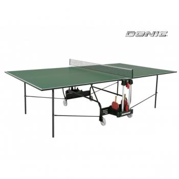 Теннисный стол для помещений DONIC INDOOR ROLLER 400 GREEN 230284-G