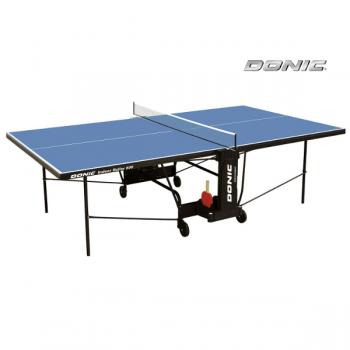 Теннисный стол для помещений DONIC INDOOR ROLLER 600 BLUE 230286-B