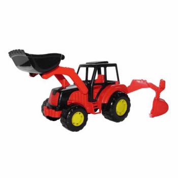 Трактор-экскаватор Мастер Полесье 35318