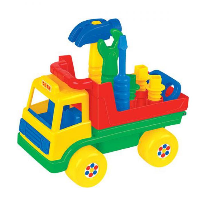 Развивающая игрушка автомобиль Техпомощь Полесье 6387