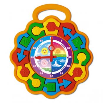 Развивающая игрушка Часики пазлы Стеллар 01329