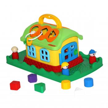 Развивающая игрушка Сказочный домик на лужайке Полесье 48752