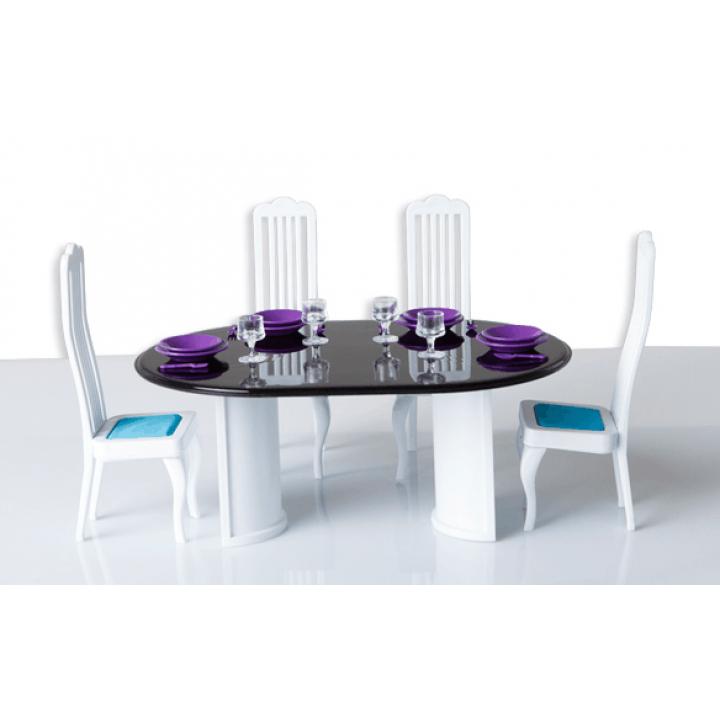 """Кукольная мебель для столовой """"Конфетти"""" Огонек С-1332"""