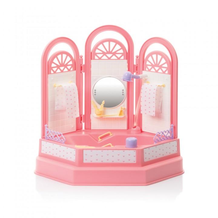 """Кукольная мебель """"Ванная комната Маленькая принцесса"""" Огонек С-1335"""