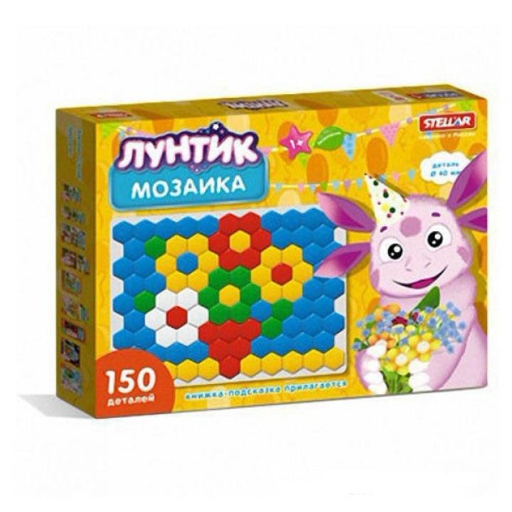 Мозаика детская Лунтик 150 деталей Стеллар 01074