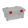 Ёмкость №51 для хранения на колёсиках с крышкой 45 литров Полесье 52100
